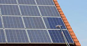 Solaranlagen Energieeinsparung mit Nanobeschichtung